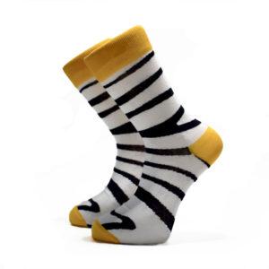 Pruhované ponožky ZEBRA