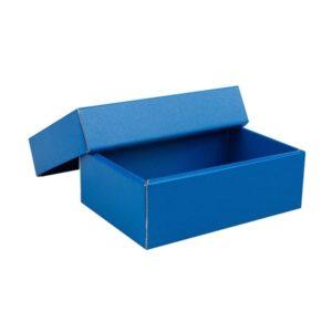 Dárková-krabička-s-víkem-150x100x5035-mm-modrá-matná